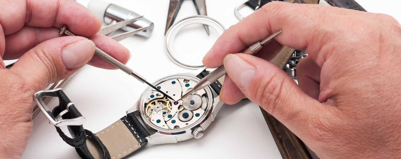 Re-secured Hands and Dial Repair
